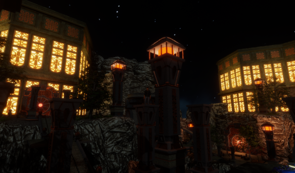 Dwarven Fortress in Sansar