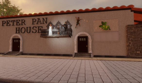 Peter Pan House in Sansar