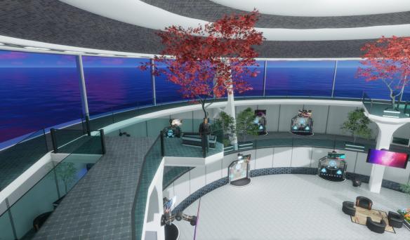 Avalon Lounge Teleporters