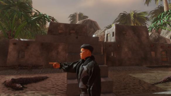 Retro Crocs Maya City